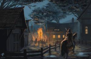 Witch Hunters' Village by PATVIT