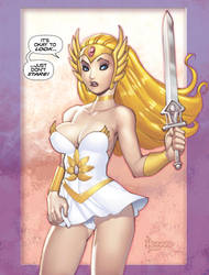 SHE-RA..don't STARE -COLOR by RyanKinnaird