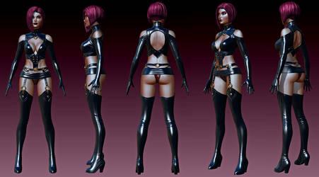 Project X 3D Design02 by RyanKinnaird