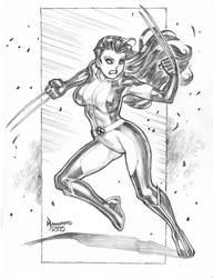 X-23 by RyanKinnaird