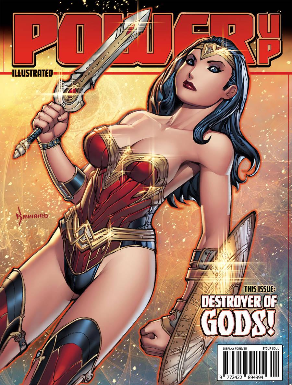 POWER UP! - Wonder Woman by RyanKinnaird