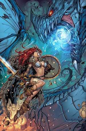 Red Sonja Issue 3.prf.01 by RyanKinnaird