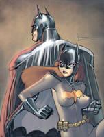 Batman-Batgirl by RyanKinnaird