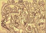 Demon Gals by RyanKinnaird