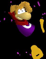 Rayman WIP by SciFiChicken