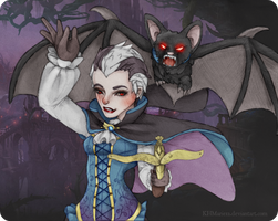 Vampire Quinn and Valor Splash Concept by KHMarieXII