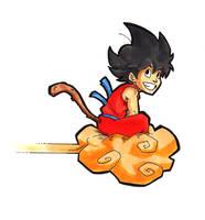 Goku by Spiral-Multimedia