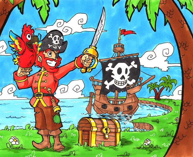 Pirate 3 by Spiral-Multimedia