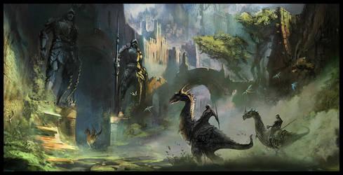 Forsaken Kingdom by MaxD-Art
