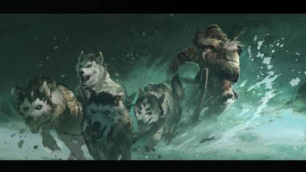 Abomination : DogSled Run by MaxD-Art