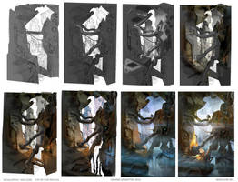 Megalopolis - High Zone : Step by Step Progress by MaxD-Art