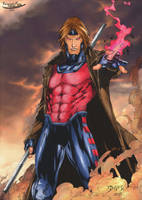 Gambit in the clouds by fexpepe