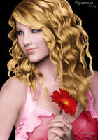 Taylor Swift Colored by fexpepe