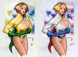 Power Girl by fexpepe