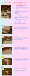 Paper Star Charm Tut part 1 by shinobitokobot