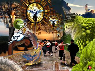 Le spectacle du roi chat by Sanfoideur