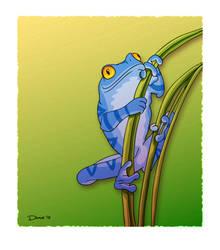 Tyler's Frog by westernphilosopher