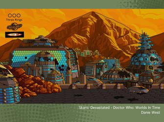 Skaro: Devastated - Doctor Who: Worlds In Time by westernphilosopher