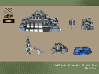 Ood Objects - Doctor Who: Worlds In Time by westernphilosopher