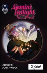 Gemini Twilight 0 Digital Cover by TriviumComics