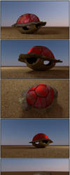 Super Mario - Red Shells by Pharaoh-Hamenthotep