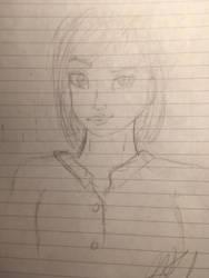 Ahaha random sketch by Winter21244