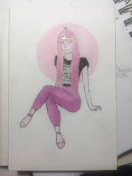 Princess Bubblegum by Winter21244