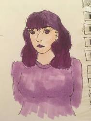 Purple Girl by Winter21244