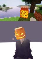 When i found pumpkin in minecraft game by titantug59