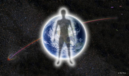 Earth = Man , not  Man = Earth by JustmeTD
