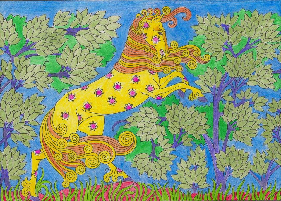 Httpsghiroph Comescudo De Bolivia: Horse Folder Design By Skofield08 Deviantart