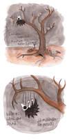 Luunaamat - Puusta Pudonnut by Aneesan