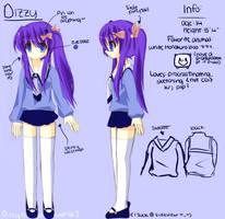 Character Sheet: Dizzy by Dizzyworld2