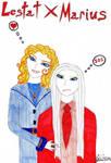 Lestat and Marius by lestat1991