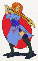 Tepet Gilgimeshi, sister of the Roseblack by harenm