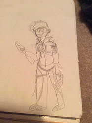 tracer doddle oddle by MustacheOfAwesome