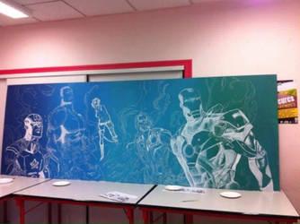 Avengers by eyesgraph