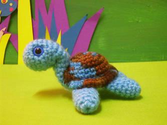 creflo amigurumi turtle by rosieok
