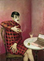What If Otto Dix was born in 1987? by djailledie