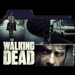 The Walking Dead Folder Icon _ by KiritoALG by KiritoALG