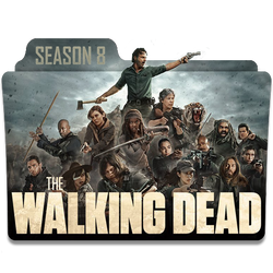 The Walking Dead Season 8 Folder Icon _ by KiritoA by KiritoALG