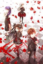 Fate Series Fatestay Night Studio by KiritoALG