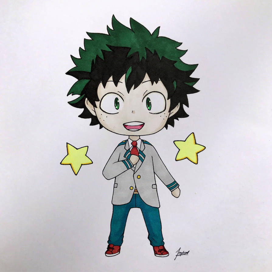 Chibi Deku By WolfJayden On DeviantArt