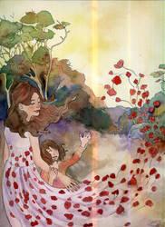 Poppyfielddress by DanaeOP