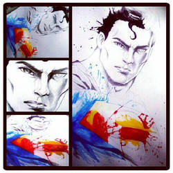 Superman Sketch by hazeldarkman