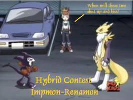 Hybrid Contest  Impmon-Renamon by Impmon-Fans-United