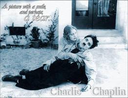 Charlie Chaplin by Lavi-Schroeder