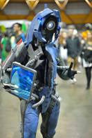 Mass Effect cosplay: Legion by DashyProps