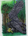 Dark Griffin by StephanieAKAfany