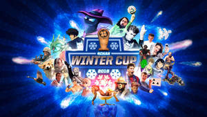 2016 4chan Winter Cup (wallpaper) by posterfig